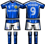 Nicaragua HT NT KIT By Globetroter