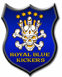 Royal Blue Kickers
