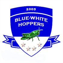 Blue-White Hoppers